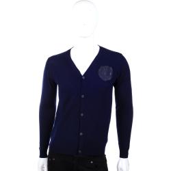 VERSACE 深藍色針織外套