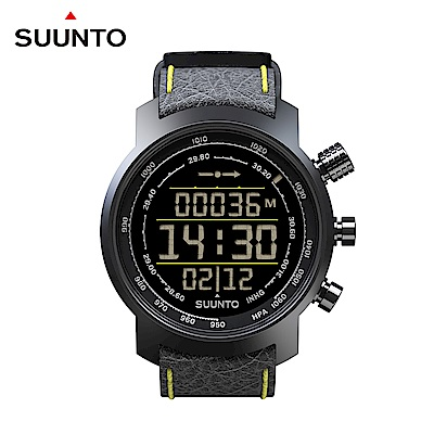 SUUNTO ElementumTerraBlack/Yellow都會與山林休閒頂級運動錶