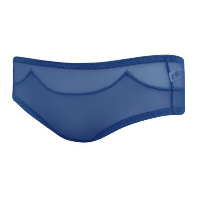 【曼黛瑪璉】混時尚III  低腰寬邊三角網褲(風擎藍)