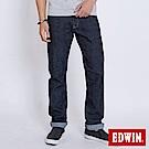 EDWIN EDGE LINE 大尺碼順向複刻版中直筒牛仔褲-男-原藍色
