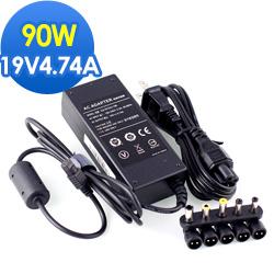[ASUS筆電適用] 19V 4.74A 90W+5接頭變壓器