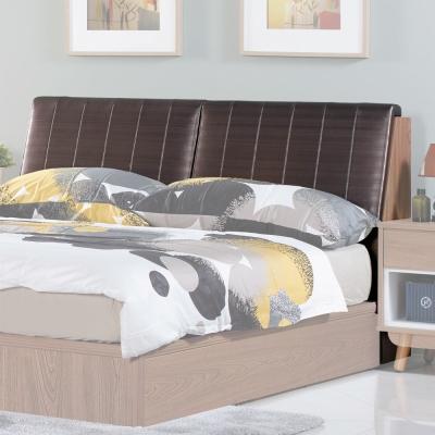 床頭箱 拉蘿5尺雙人 柚木色 愛比家具