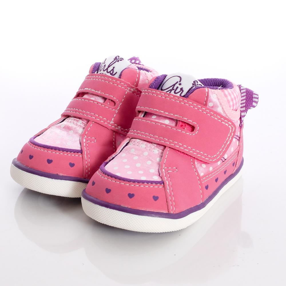 IFME健康機能鞋-護踝預防矯正款-470222粉(寶寶段)