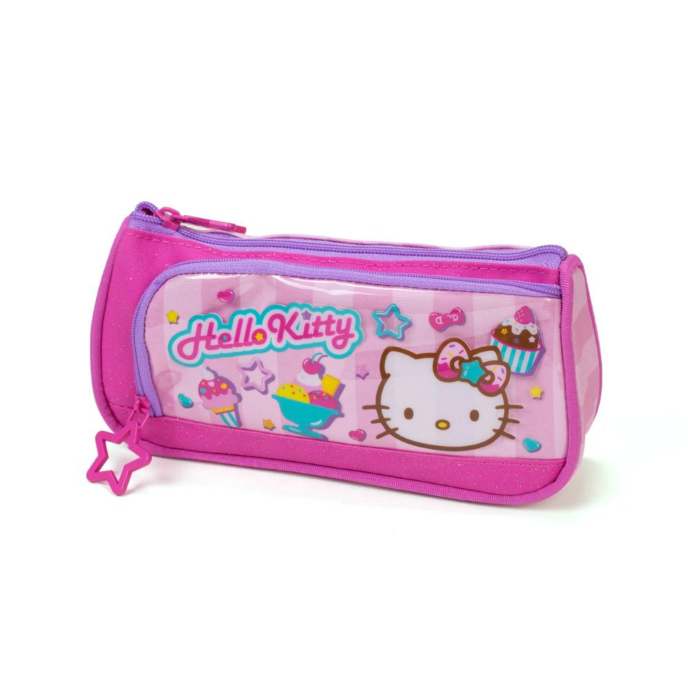 Sanrio HELLO KITTY夏日甜點系列筆袋