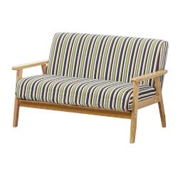 沙發 雙人座 安德里實木造型沙發 品家居