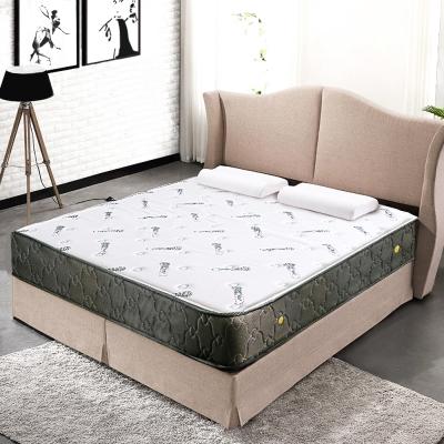萊諾比-薔薇之戀涼感沙表布二線硬式獨立筒床墊-單人