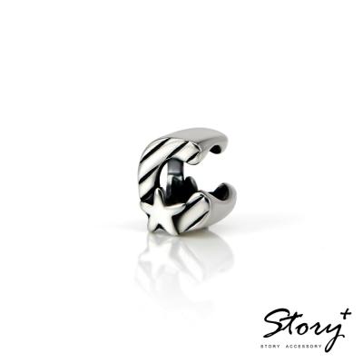 STORY故事銀飾-串珠墜飾-字母珠 C