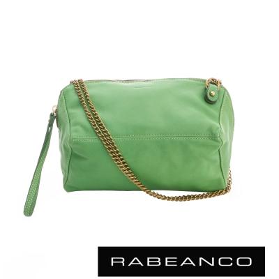 RABEANCO 心系列菱型多WAY鍊帶包 綠