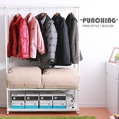 GALAXY 三層單吊衣櫥架121x46x181(超荷重250kg)