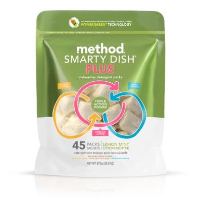 Method 美則  聰明洗碗球PLUS(萊姆薄荷45顆入/720g)