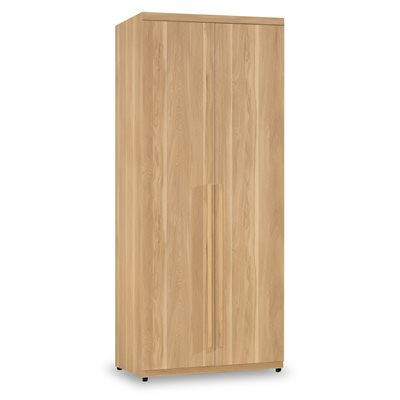 時尚屋 波里斯2.6尺雙吊衣櫃 寬80x深60x高200cm