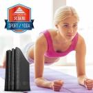 aroose 艾瑞斯-可折疊6mm雙面止滑加厚方便攜帶瑜珈墊-爵士黑(贈提袋)-快速到貨