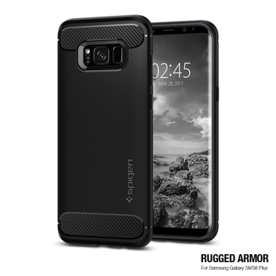 Spigen Galaxy S8 Rugged Armor-彈性防震保護殼
