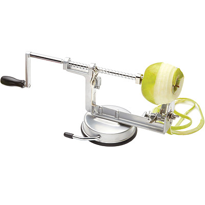 KitchenCraft 3in1旋轉蘋果削切去核器