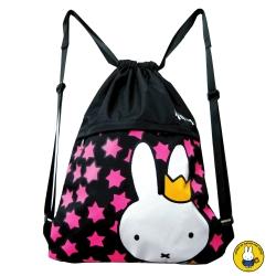 【Miffy 米飛】可調式束口後背袋(Star_MI-5616)