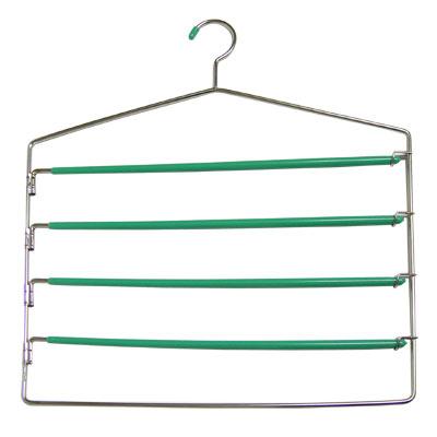 開收式五層裙褲衣架(5支裝)