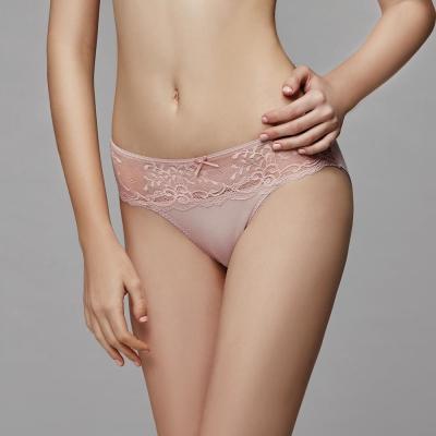 La Felino-甜漾金星低腰三角褲(裸粉)