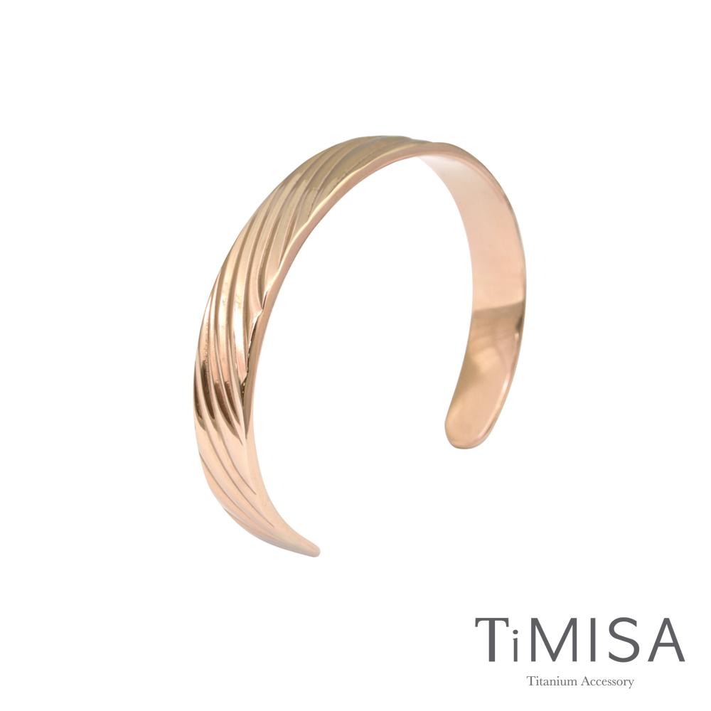 TiMISA《真藏精典》純鈦手環(雙色可選)