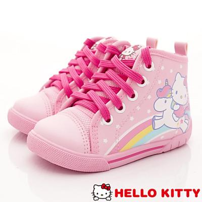HelloKitty童鞋-彩虹帆布短筒款-SE17