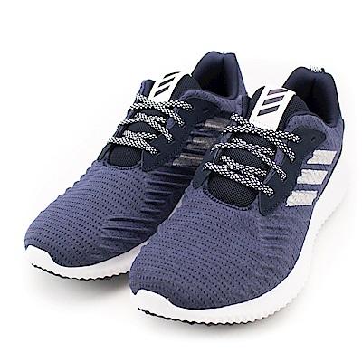 ADIDAS-ALPHABOUNCE 男慢跑鞋-紫