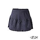 5B2F 五餅二魚 幾何紋花瓣裙襬短褲