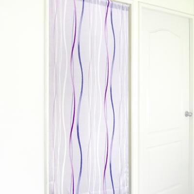 布安於室-山堰遮光長門簾-紫色