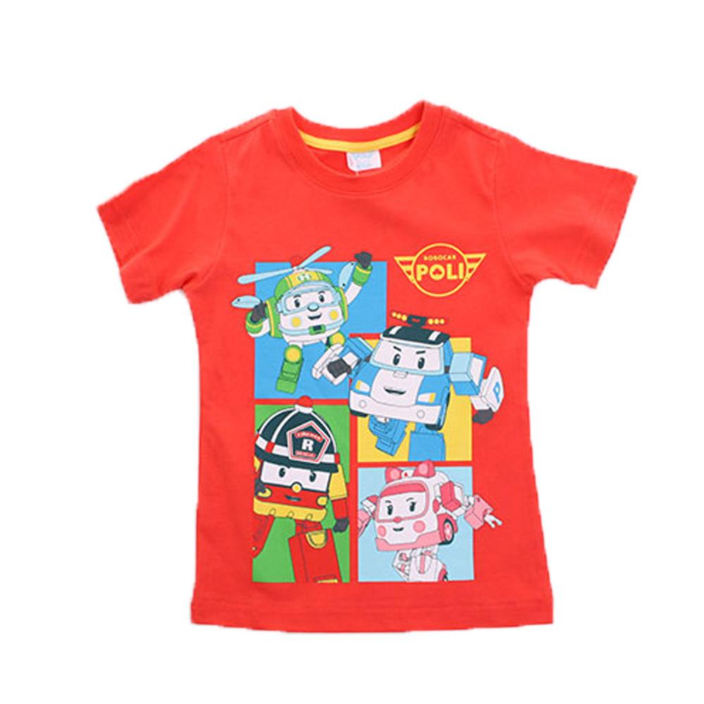 POLI純棉短袖T恤 k50078
