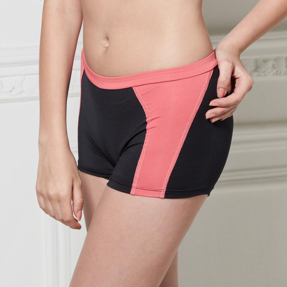 可蘭霓Clany  沁涼保養平口M-XL內褲 神秘黑