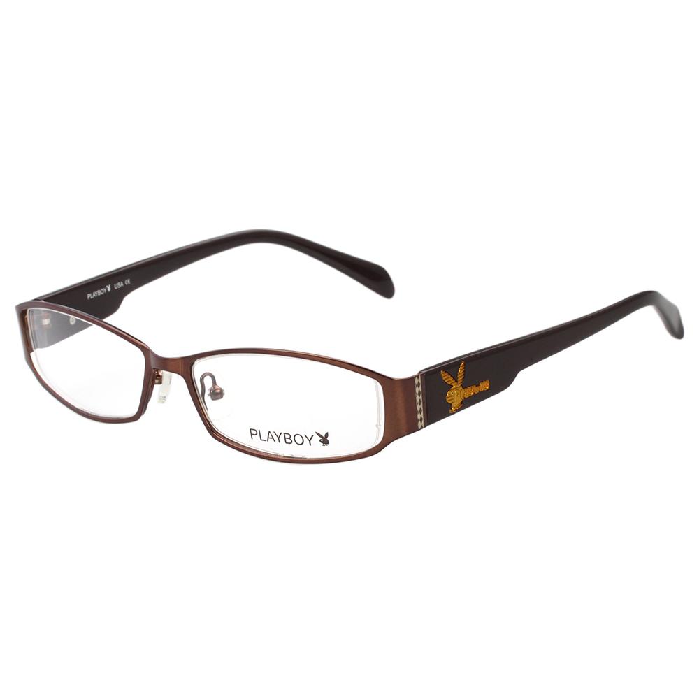 PLAYBOY - 光學眼鏡 (咖啡色)