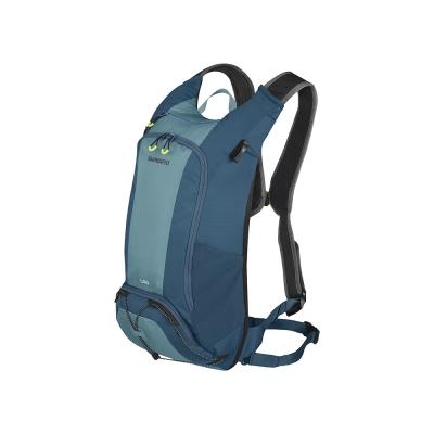 SHIMANO UNZEN 登山車後背包-無水袋 14L 愛琴藍