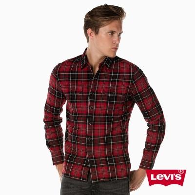 格紋襯衫 男裝 雙口袋 - Levis