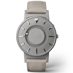 EONE 美國設計品牌 Bradley 觸感腕錶-極簡灰/40mm