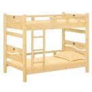 愛比家具 蘭米3.5尺松木雙層床(不含床墊)