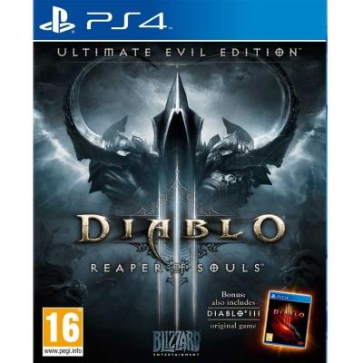 暗黑破壞神 3:奪魂之鐮 - 終極邪惡版 Diablo III-PS4英文歐版
