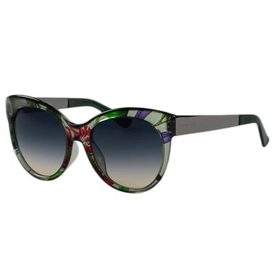 GUCCI- 春夏花卉 太陽眼鏡 (綠色)