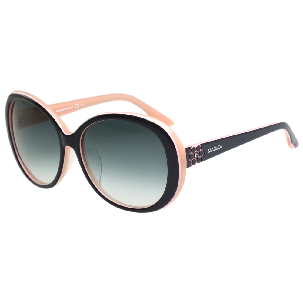MAX&CO. 時尚太陽眼鏡 (黑配粉)