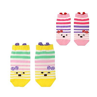WHY AND 1/2 條紋吸濕排汗踝襪 多色可選