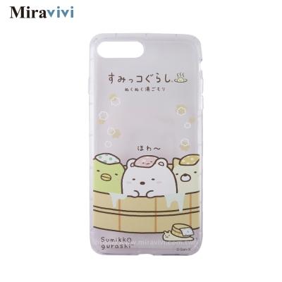 角落小夥伴/角落生物iPhone 8/7 Plus(5.5吋)防摔氣墊空壓保護套_溫泉