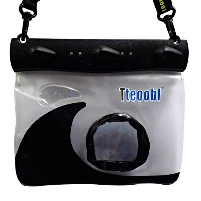Tteoobl T-508M 耐壓20米 類單眼相機通用防水袋(黑)