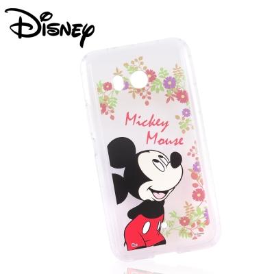 Disney迪士尼HTC U11防摔氣墊空壓保護套_賞花米奇