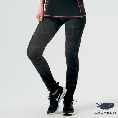 【LACHELN】時尚豹紋貼腿褲(L62W709)