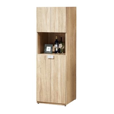 Bernice-納迪亞2尺四門置物收納櫃-60x40x180cm