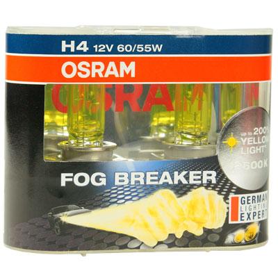 OSRAM 終極黃金2600K FOG BREAKER公司貨(H1/H3/H4)