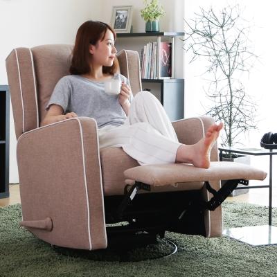 H&D 佐伊絲無段式可旋轉單人休閒椅/單人沙發-多色選