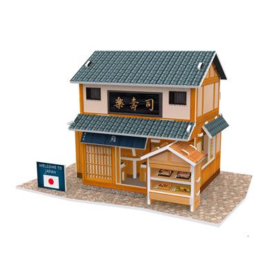 世界之窗 3D立體拼圖 《日本》壽司專門店 3D World Style
