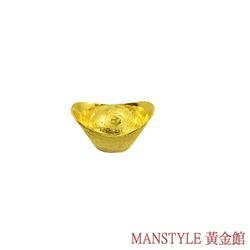 Manstyle 福字黃金元寶 (1錢)