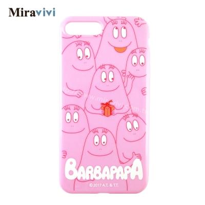 BARBAPAPA泡泡先生iPhone 8/7 Plus(5.5吋)粉色空壓保護...