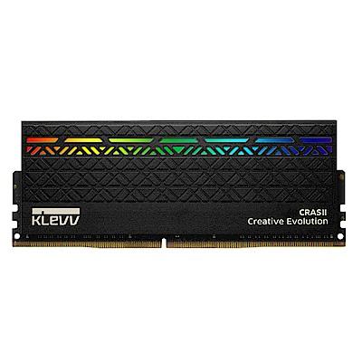 KLEVV 科賦 CRASII DDR4 3200 8Gx2 桌上型電競記憶體(RGB)
