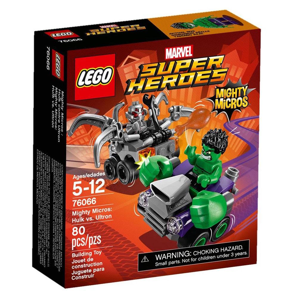 LEGO樂高 超級英雄 迷你車系列 76066 浩克vs.奧創