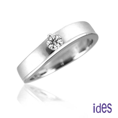 ides愛蒂思 完美王子系列 20分八心八箭完美車工鑽石戒指